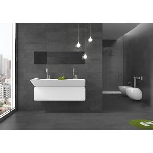 Vloertegel Keraben Petit Granit 30x60x1 cm Negro 1,08M2