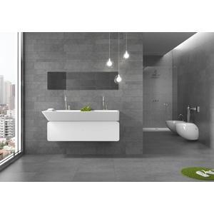 Vloertegel Keraben Petit Granit 30x60x1 cm Grafito 1,08M2