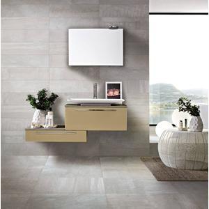 Vloertegel Serenissima Metropolis 20x80x- cm Grijs 1,12M2