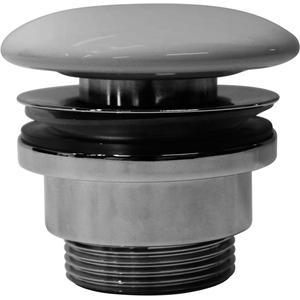 Ben Afvoerplug Wastafel zonder overloop 72 mm Cement Grijs