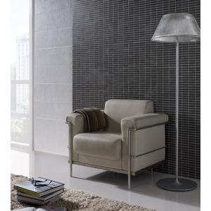 Wandtegel Saloni Polaris 25x75 cm Blanco 1.32 m²