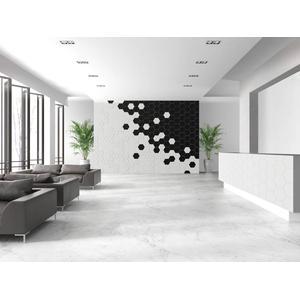 Wandtegel Quintessenza Origami 26,6x23 cm bianco base 0,87 M2