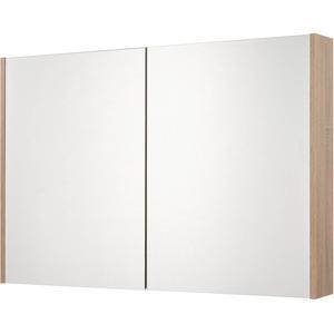 Saqu Salto Spiegelkast 2 deuren 100cm Bardolino Eiken