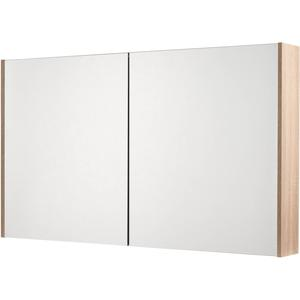 Saqu Salto Spiegelkast 2 deuren 120cm Bardolino Eiken