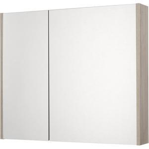 Saqu Salto Spiegelkast 2 deuren 80cm Litho Grijs