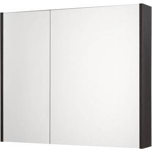 Saqu Salto Spiegelkast 2 deuren 80cm Romi Antraciet