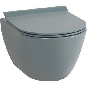 Ben Segno Compact Wandcloset 50cm Free Flush Xtra Glaze Donker groen