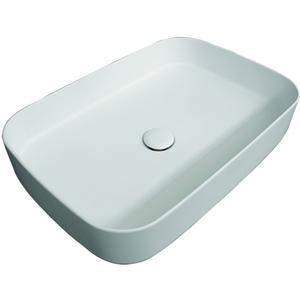 Cielo Shui Comfort Wastafel 60x40x12,5 cm Bianco