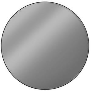 Looox Black Line Round Spiegel Ø 80 cm Mat Zwart
