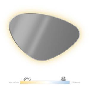 Looox Organic Spiegel met LED CCT-Verlichting 80x60 cm