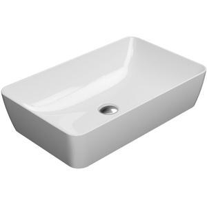 Ben Stilo keramische opbouwwastafel 60x38 cm wit Xtra Glaze