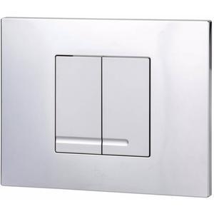 Ben Pro Flush Style bedieningspaneel 2-knops tbv BPF/BPSF chroom/mat-chroom