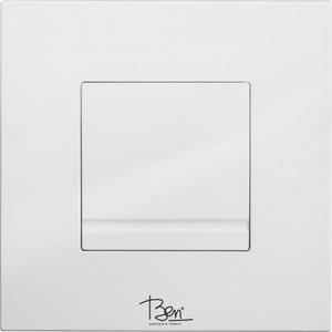 Ben Style Drukplaat Mechanisch 16x16 cm Wit