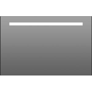 Thebalux Stripe LED spiegel 120x70x3,5 cm Alu frame