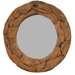 Teak & Living Spiegel Sprokkel 80 cm Natural Teak