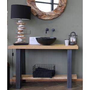 Teak & Living Wastafelmeubel 120x45x77cm  Iron Wood