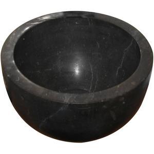 Teak & Living Fontein 23x23 cm hardstenen black