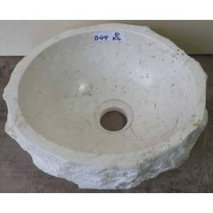 Teak & Living Waskom Stone 30-35 cm Creme