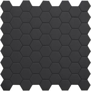 Mozaïek Terratinta Hexa 31,6x31,6 cm black 10ST
