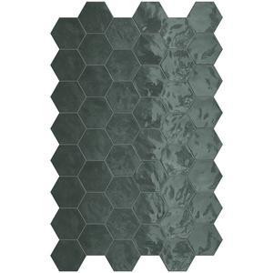 Wandtegel Terratinta Hexa 17,3x15 cm green echo 0,46M2