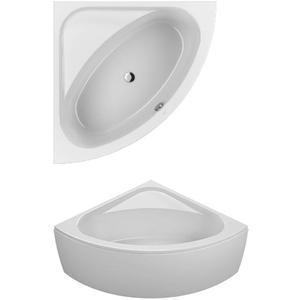 Villeroy & Boch Loop & Friends hoekbad 140 x 140 cm. ovale binnenvorm Wit