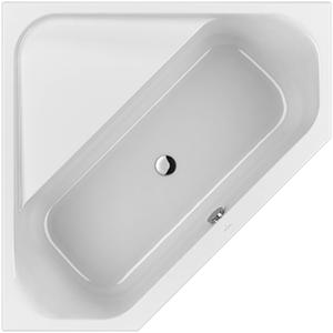 Villeroy & Boch Loop & Friends hoekbad 140 x 140 cm. hoekige binnenvorm Wit