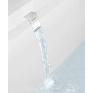 Villeroy & Boch Squaro edge 12 watertoevoer geintegreerd in overloop