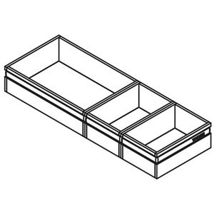 TA'OR CubiSoft 450 Antraciet/Zwart 3 cubics