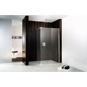 HSK Walk-In Atelier Inloopdouche met draaibaar zijpaneel 90+35x200cm Chroom/Helder glas