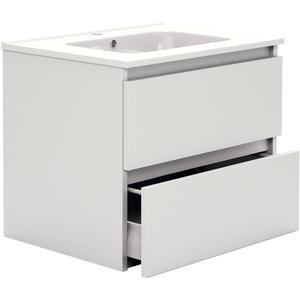 Primabad Third Editions Wastafelonderkast 60x45x50 cm Acryl hoogglans wit