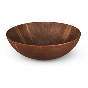 Looox Ceramic Raw Waskom Ø 40 cm Raw Rust