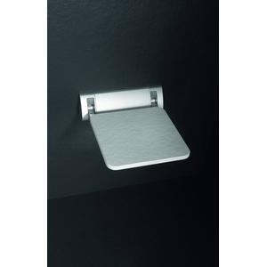 Acquabella Wandzitting Beton 30x28 cm Blanco