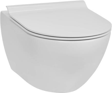 Ben Segno Wandcloset Free Flush Wit Xtra Glaze