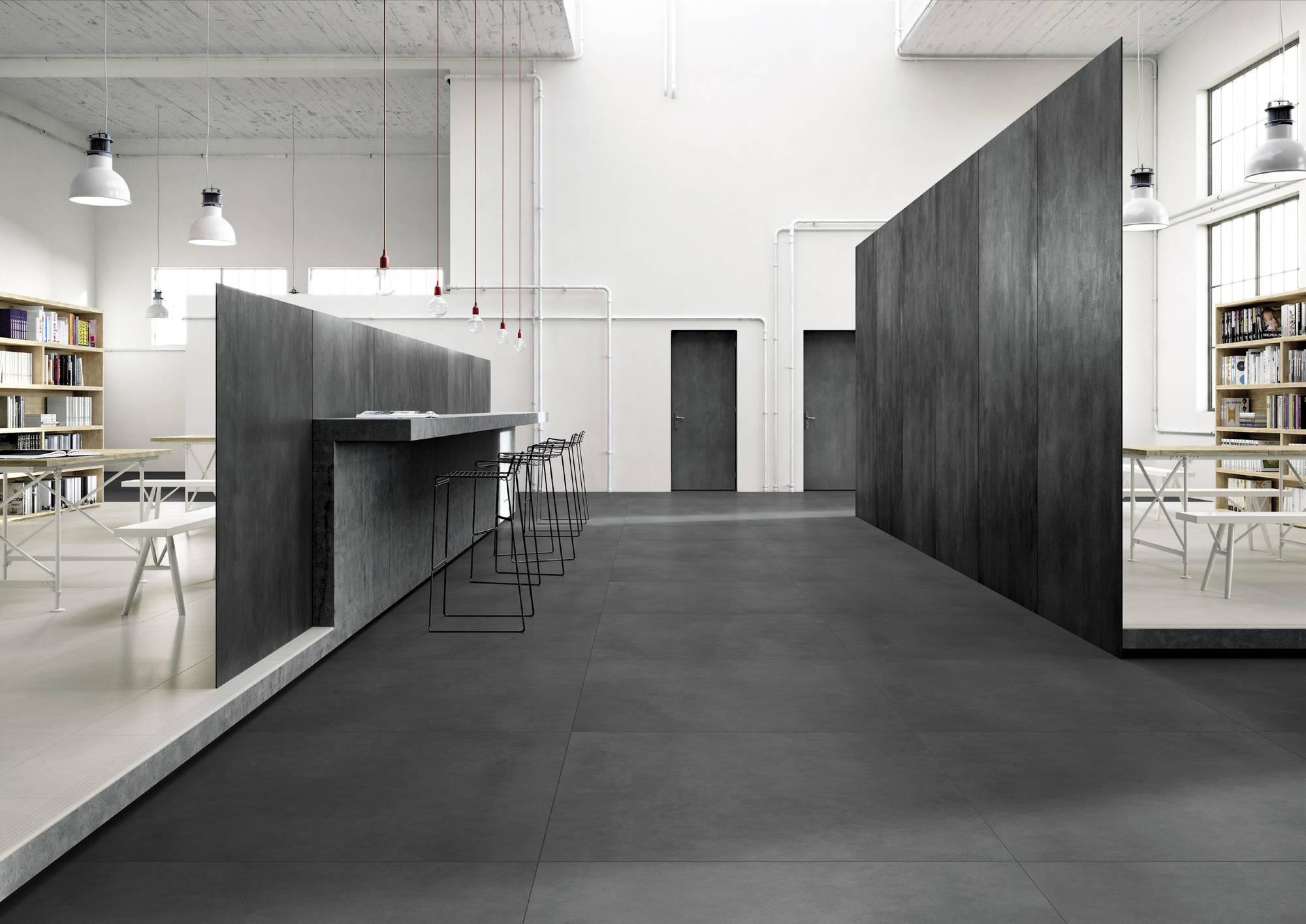 Vloertegel Imola Micron 2.0 30x60x- cm Black N 0,9M2