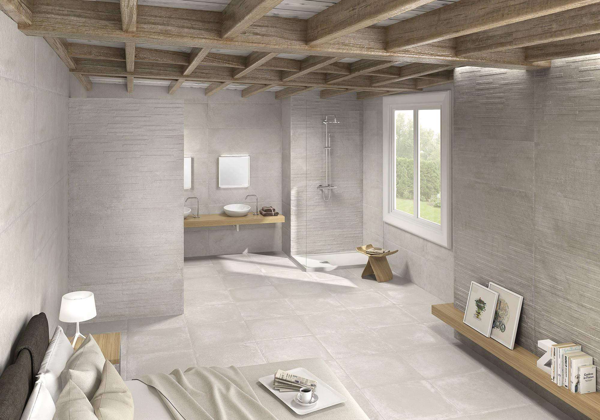 Vloertegel Azulev Varese 60x60x1 cm Perla 1,08M2