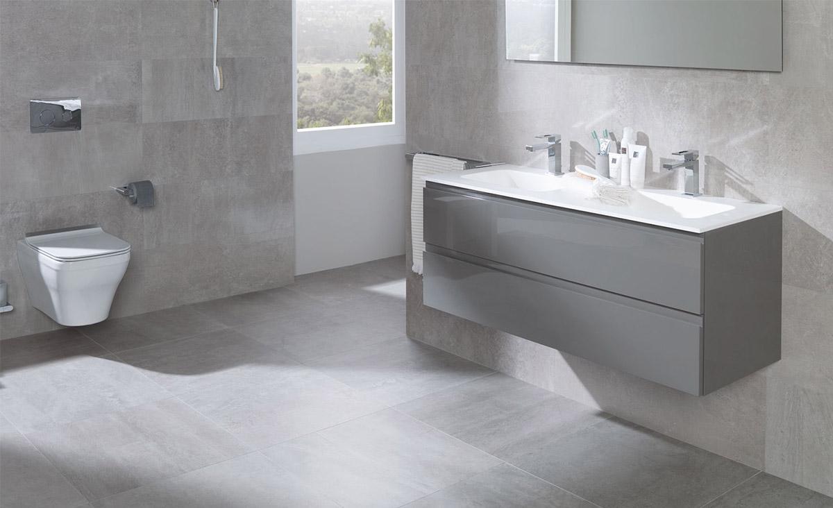 Fonkelnieuw Beton in de badkamer - Inspiratie - Saniweb.nl XV-43