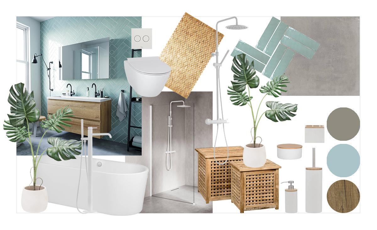 Super Inspiratie voor een Scandinavische badkamer - Inspiratie - Saniweb.nl AT-01