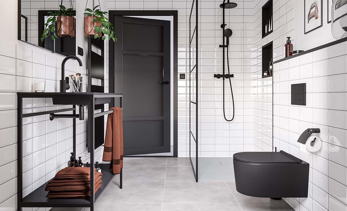 Shop the look: industriële badkamer