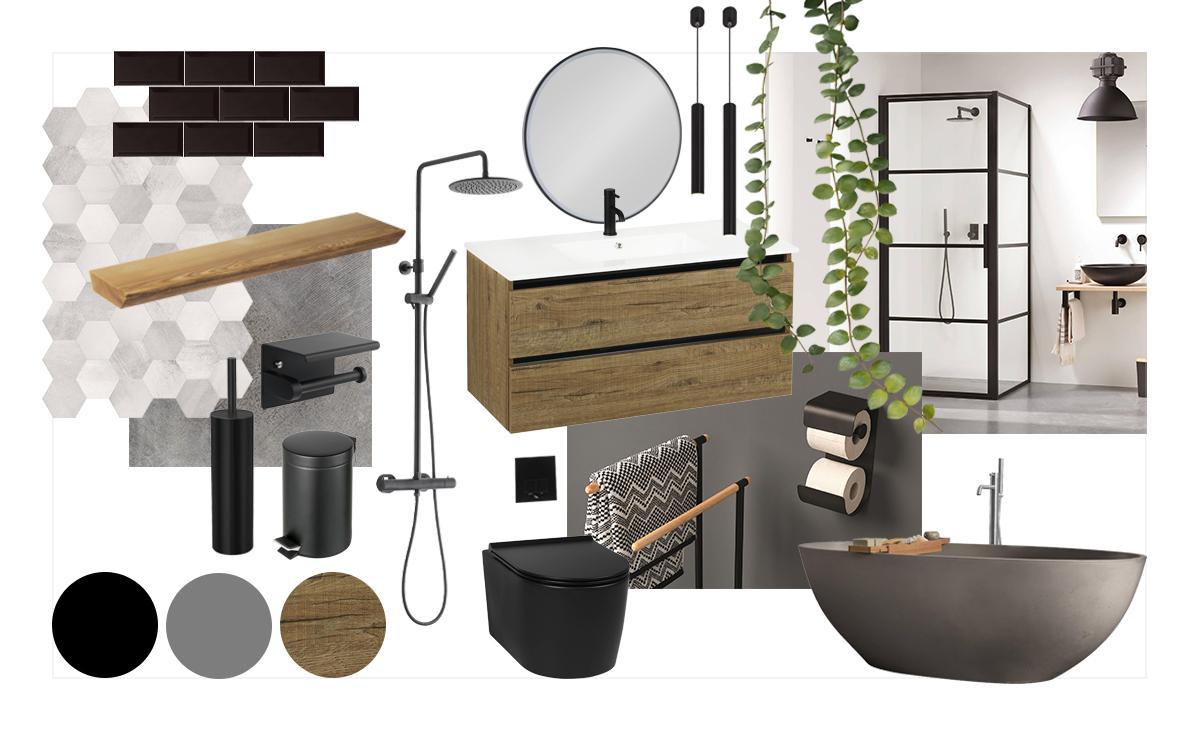 Creëer jouw eigen industriële badkamer