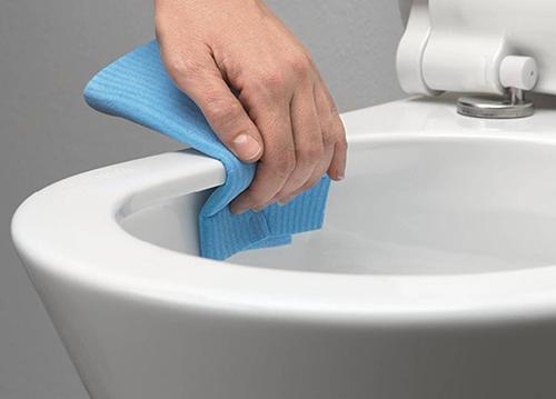 Reinigen toilet