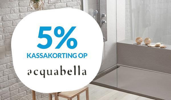 5% kassakorting op Acquabella