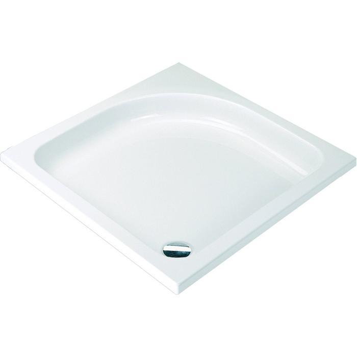 Sealskin Get Wet Optimo douchebak vierkant  90x90 cm Wit