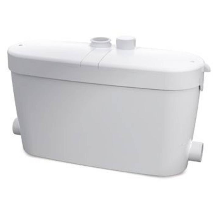 Sanibroyeur Saniaccess vuilwaterdompelpomp fontein-wast-bad-douche-bidet- Wit
