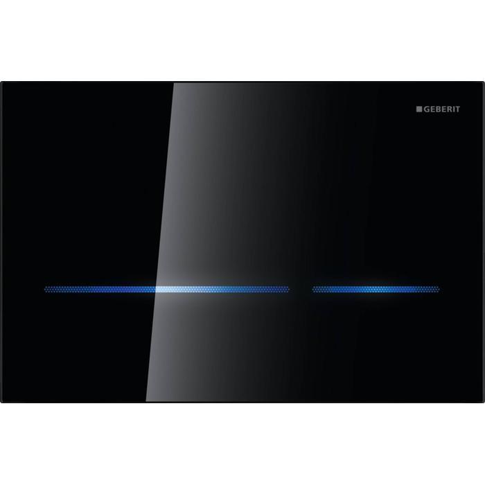 Geberit Sigma 80 drukplaat infrarood 230v touch free tbv UP320 glans zwart