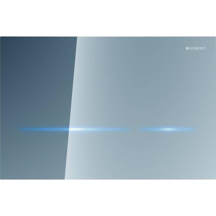 Geberit Sigma 80 drukplaat infrarood 230v touch free tbv UP320 spiegelglas
