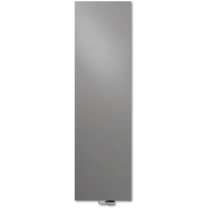 Vasco Niva Lak Verticaal N2L1 designradiator 182x42cm 1330W Grijs Aluminium