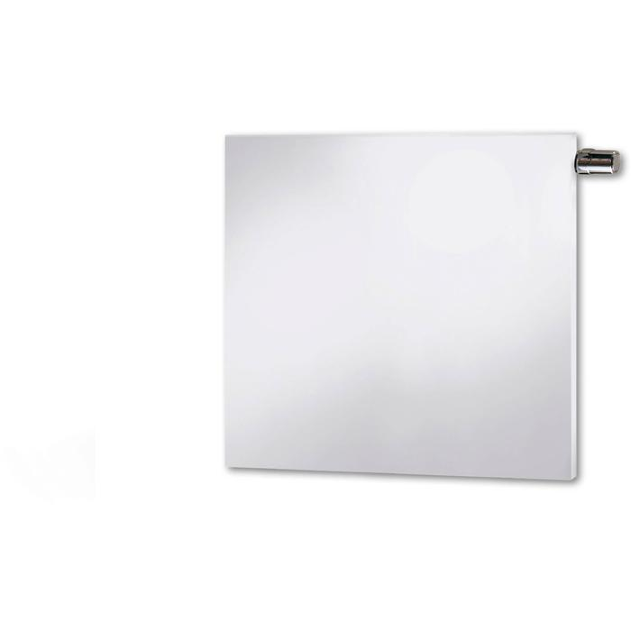 Vasco Niva Lak Horizontaal NH2L2 radiator 95x108cm 2027W Grijs Aluminium