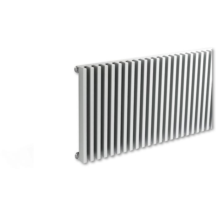 Vasco Zana Horizontaal ZH-2 radiator as=0018 60x110cm 1875W Aluminium Grijs
