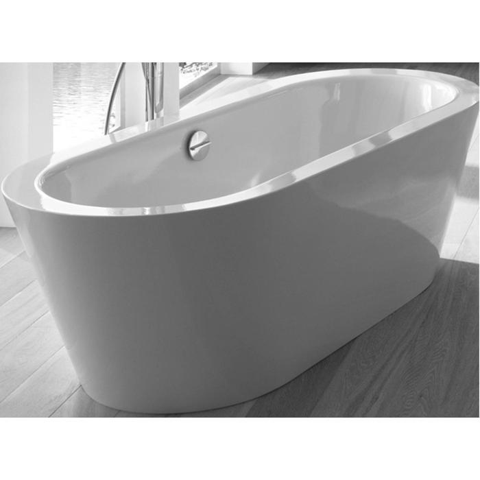 Bette Starlet oval silhouette vrijstaand bad 175 x 80 cm. Wit