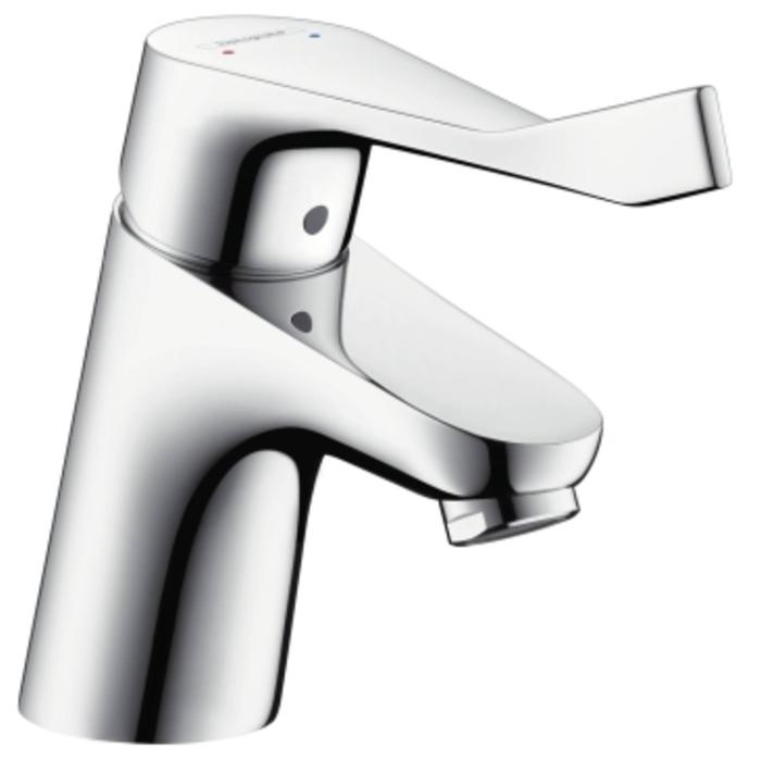 Hansgrohe Focus Care 70 wastafelkraan met waste Chroom